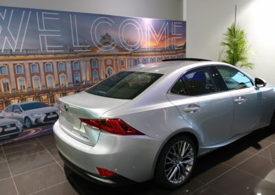 Soiree chez le groupe Lexus